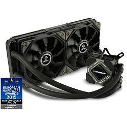Hladnjak za procesor Enermax LIQMAX II 240 vodeno hlađenje za procesore Intel LGA 775 - 2011, AMD AM2 - FM2+ (ELC-LMR240-BS)