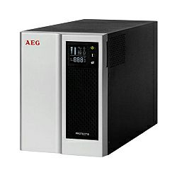 AEG UPS Protect B NAS 500VA/250W, Line-Interactive, AVR, LCD display, Overvoltage protection (RJ11/RJ45), USB