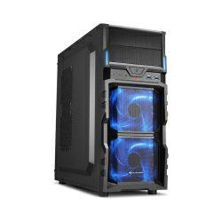 Kućište Sharkoon VG5-V Midi Tower ATX, bez napajanja, crno