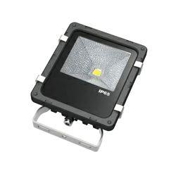 EcoVision LED reflektor 30W, 3000K, topla-bijela, crni, COB