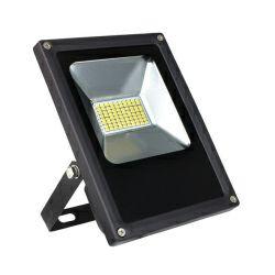 EcoVision LED reflektor 10W, 12V DC,  4000K, hladna-bijela, crni