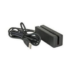B&W MSR-250 POS čitač magnetskih kartica, USB, crni