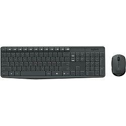 Logitech MK235 bežična tipkovnica+miš, USB, crna (920-008031)