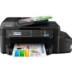 Printer Epson L655 Print/Scan/Copy/Fax pisač, A4, Duplex, 33/20 str/min. black/color, USB./LAN/Wi-Fi