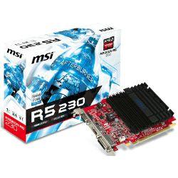 Grafička kartica MSI AMD Radeon R5 230 1GB GDDR3/64-bit PCIe, D-Sub/DVI-D Dual-link/HDMI, Heatsink, Low Profile (R5 230 1GD3H LP)