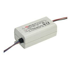 Napajanje Mean Well 8W, 230V AC,12V DC, plastično kućište, APV-8-12