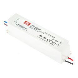 Napajanje Mean Well 18W, 180-264V AC,24V DC, plastično kućište, IP67, LPH-18-24