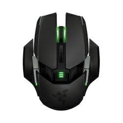 Razer Ouroboros bežični laserski igraći miš, USB, crno/zeleni
