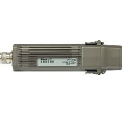 Mikrotik RouterBOARD Metal-2SHPn, 400MHz Atheros CPU, 64MB RAM, 1× LAN, 1×high power 2.4GHz, 802.11b/g/n, RouterOS L4, metalno kučište, PoE injector, PSU, 2.4Ghz 6dBi Omni antena
