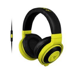 Razer Kraken Mobile Neon Yellow igraće stereo slušalice sa mikrofonom, USB