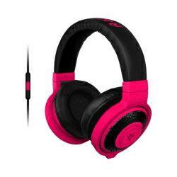 Razer Kraken Mobile Neon Red igraće stereo slušalice sa mikrofonom, USB
