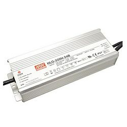 Napajanje Mean Well 320W, 90~305V AC,24V DC, metalno kućište IP67, HLG-320H-24B