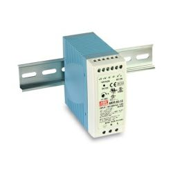 Napajanje Mean Well 60W, 90~305V AC,24V DC, metalno kućište, MDR-60-24