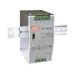 Napajanje Mean Well 120W, 90~305V AC,24V DC, metalno kućište, DR-120-24