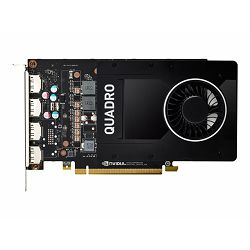 HP NVIDIA Quadro P2200 5GB 4DP GFX
