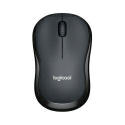 Logitech M220 Silent bežični optički miš, crni (910-004878)