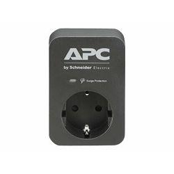 APC SurgeArrest 1 Outlet Black 230V