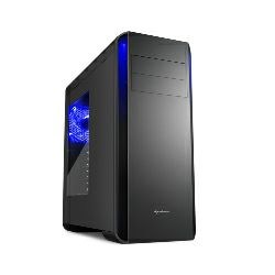 Sharkoon BW9000-W Midi Tower ATX kućište, bez napajanja, crno