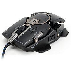 Gaming miš Zalman ZM-GM4 laserski igraći miš, USB, crni