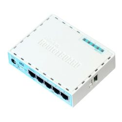 Mikrotik RB750Gr3, hEX, Dual Core 880MHz MHz CPU, 256MB RAM, 5×Gigabit LAN, USB, RouterOS L4, plastično kučište, PSU