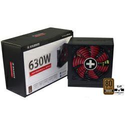 Napajanje Xilence 630W Performance A+, ATX 2.4 80+ Bronze, aktivan PFC, 4×PCIe, 6×SATA, 20+4-pina, 120mm ventilator, crno
