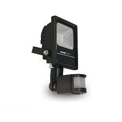 EcoVision LED reflektor PIR 10W, AC200-240V, 6000K, hladna-bijela