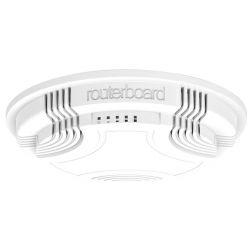Mikrotik RBcAP2nd RouterBOARD zidni/stropni AP (cAP2nd), AR9533 650MHz CPU, 64MB RAM, 1×LAN, 2.4Ghz 802.11b/g/n, integrirana antena, RouterOS L4, plastično kućište, PoE, PSU