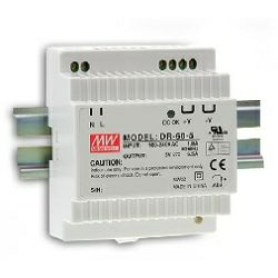 MEAN WELL napajanje 60W, 230V AC/24V DC, plastično kućište, DR-60-24