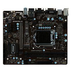 Matična ploča MSI MB B250M PRO-VD, S.1151, iB250 DDR4/2400, PCIe, D-Sub/DVI, S-ATA3, G-LAN, USB3.0, 8ch., mATX