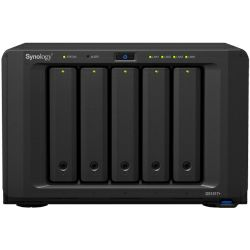 Synology DS1517+ 8GB DiskStation 5-bay All-in-1 NAS server, 2.5