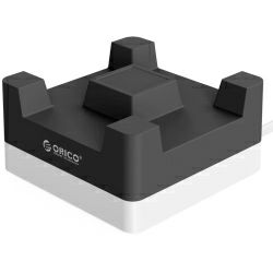 Orico 4-portni USB punjač sa držačem za smartphone, crni (ORICO CHA-4U)