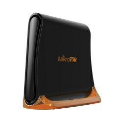 Mikrotik RB931-2nD, hAP mini, 650MHz CPU, 32MB RAM, 3×LAN, 2.4Ghz 802.11b/g/n, 2x2 two chain wireless integrated antene, RouterOS L4, tower kučište, PSU