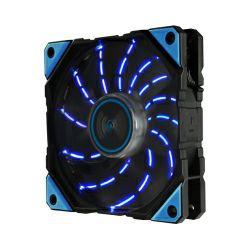 Enermax D.F. Vegas hladnjak za kućište 120×120×25mm, PMW, APS, Dust Free Rotation, Twister Bearing Technology, LED plavi