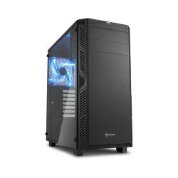 Sharkoon AI7000 Midi Tower ATX kućište, bez napajanja, prozirna bočna stranica, crno