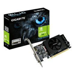Grafička kartica Gigabyte GeForce GT710 2GB DDR5/64-bit, PCIe, Dual-Link DVI-I/HDMI, Low profile (GV-N710D5-2GL)