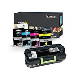 Lexmark toner 80C8XY0 za CX510 Yellow 4.000 str