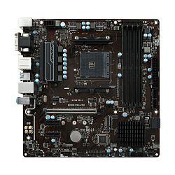 Matična ploča MSI B350M PRO-VDH, S. AM4, Ryzen, DDR4/3200, PCIe, VGA/DVI-D/HDMI, S-ATA3, G-LAN, USB3.1, mATX