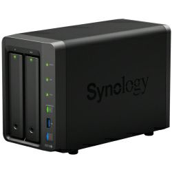 Synology DS718+ DiskStation 2-bay All-in-1 NAS server, 2.5