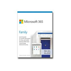 MS 365 Family EuroZone Subscr 1YR (EN)