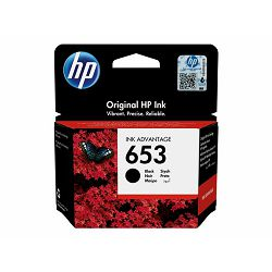 HP 653 Black Original Ink Advantage Cart