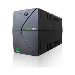 Elsist UPS Home 550VA/300W, Line-Interactive, noise filtering, overvoltage/undervoltage/overload/shortcircuit protection