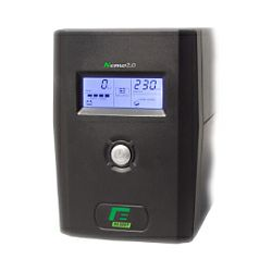 Elsist UPS Nemo2.0 80 800VA/400W, Line-Interactive, noise filtering, overvoltage/undervoltage/overload/shortcircuit protection