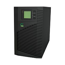 Elsist UPS Mission 2000VA/1600W, On-line double conversion, DSP, surge protection, LCD