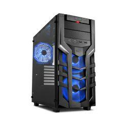 Kućište Sharkoon DG7000-G RGB Midi Tower ATX, bez napajanja, crno