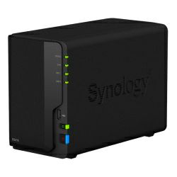 Synology DS218 DiskStation 2-bay NAS server, 2.5