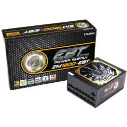 Zalman 1200W ZM1200-EBT Gold, ATX 2.3, aktivan PFC, 6×PCIe, 12×SATA, 20+4-pina, 120mm ventilator, crno