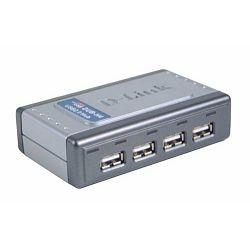 D-LINK DUB-H4, E 4-Port USB 2.0 Hub