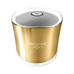 Creative Woof 3 bluetooth zvučnik, zlatni