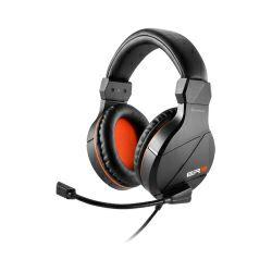 Slušalice sa mikrofonom Sharkoon Rush ER3 stereo, crno-narančaste