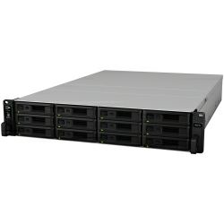 Synology RS3618xs RackStation 12-bay NAS server, Intel Xeon D-1521 2.4GHz, 8GB DDR4 ECC, Hot-Swap HDD, 4xG-LAN, Link Aggregation, Wake on LAN/WAN